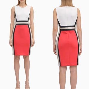 Coming Tonight! NWT Calvin Klein Colorblock Dress